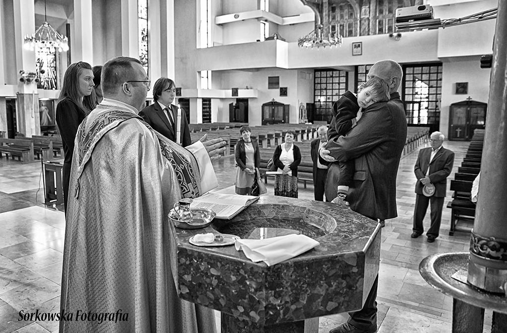 Fotograf Chrzest Łęczna Puchaczów