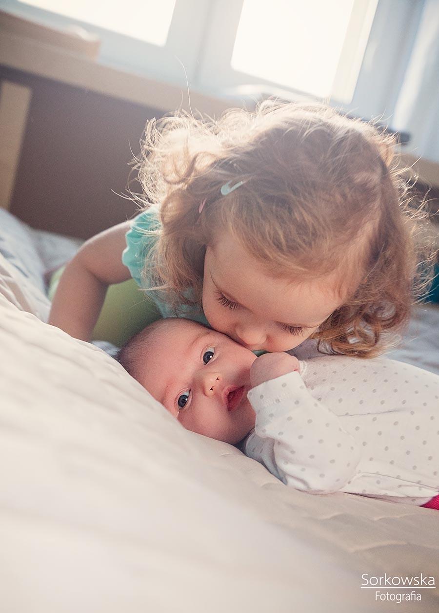Sesja niemowlęca Łęczna Puchaczów