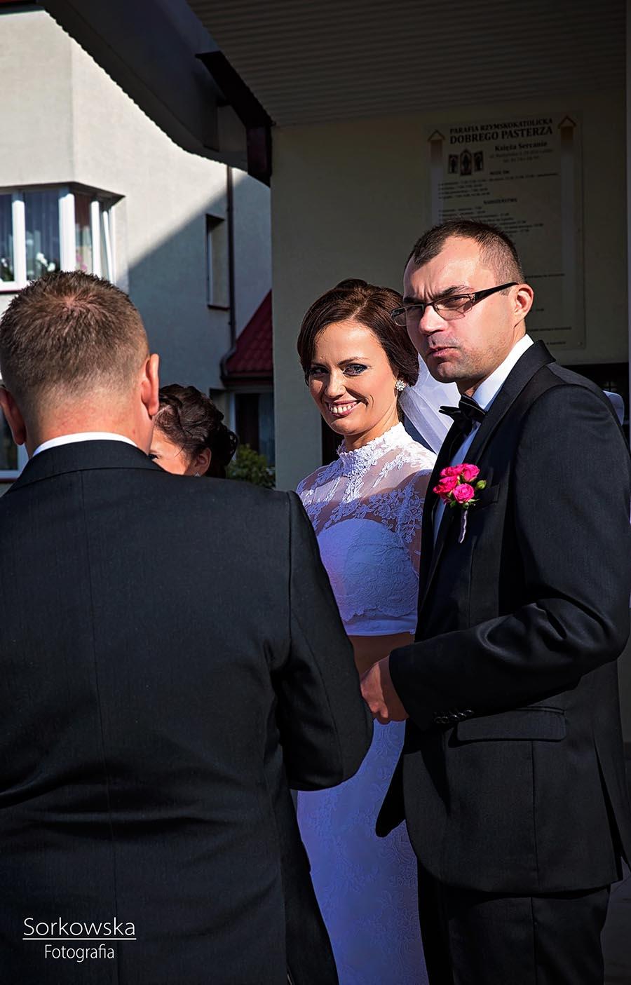 fotograf ślub Łęczna Puchaczów