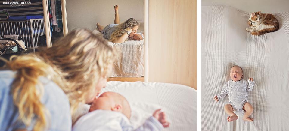 Sesja niemowlęca Łęczna Stalowa Wola
