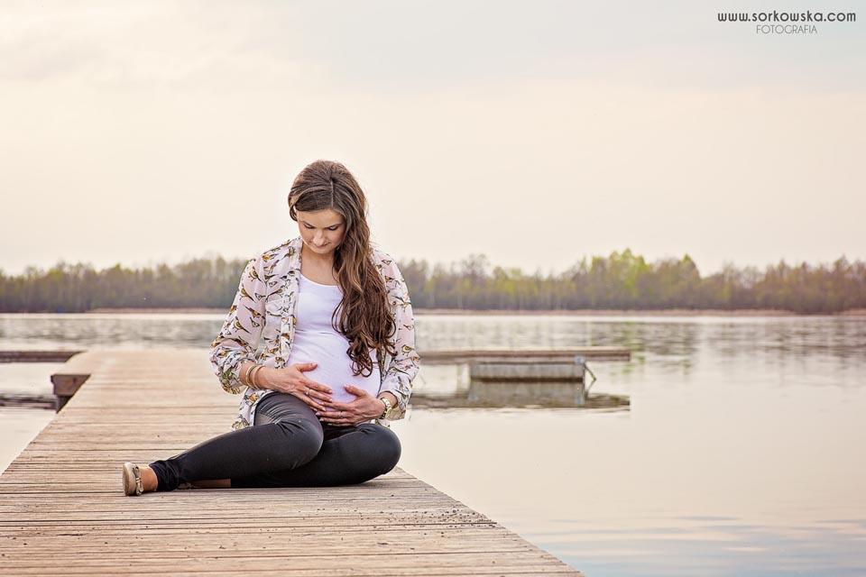 sesja ciążowa Łęczna Puchaczów