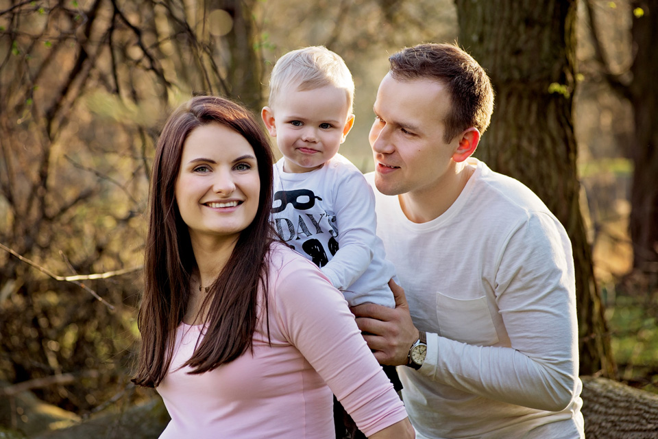 sesja ciazowa rodzinna w Lublinie plener 14