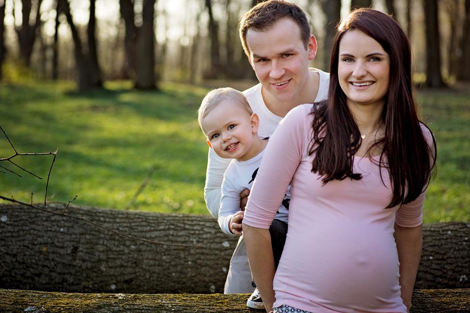 sesja ciazowa rodzinna w Lublinie plener 9