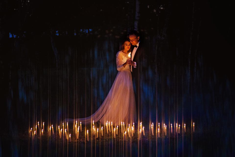 Sesja ślubna plener świece 7