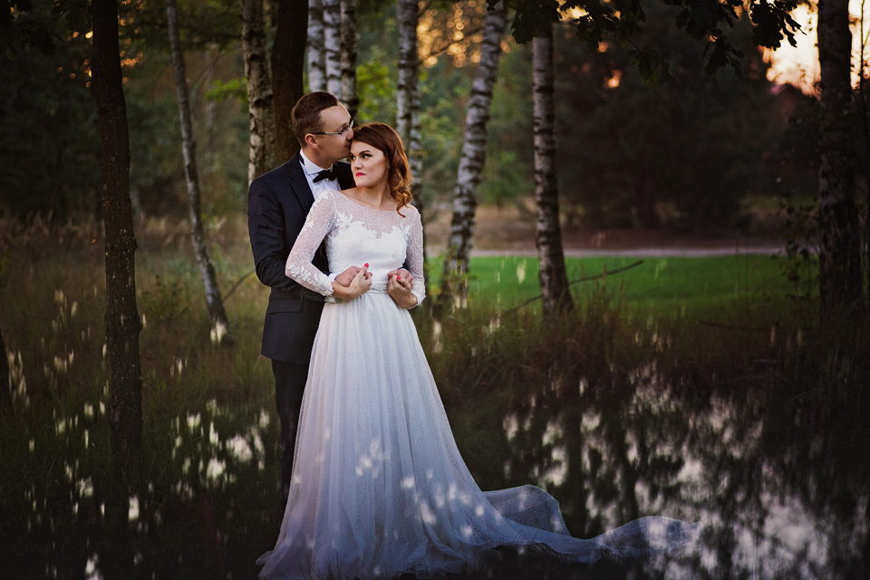 Sesja ślubna plener natura 13