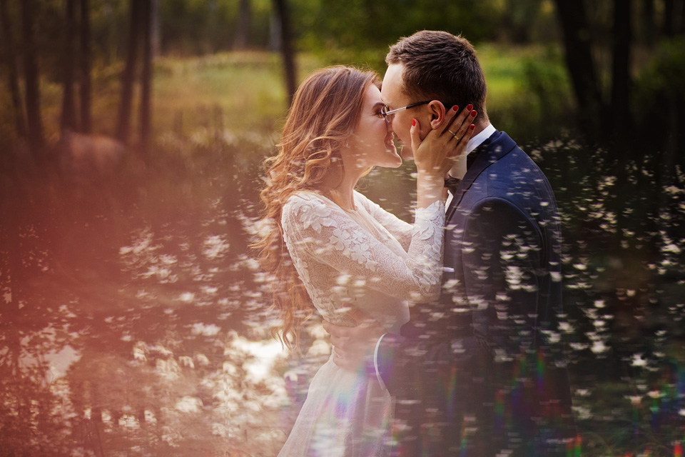 Sesja ślubna plener natura