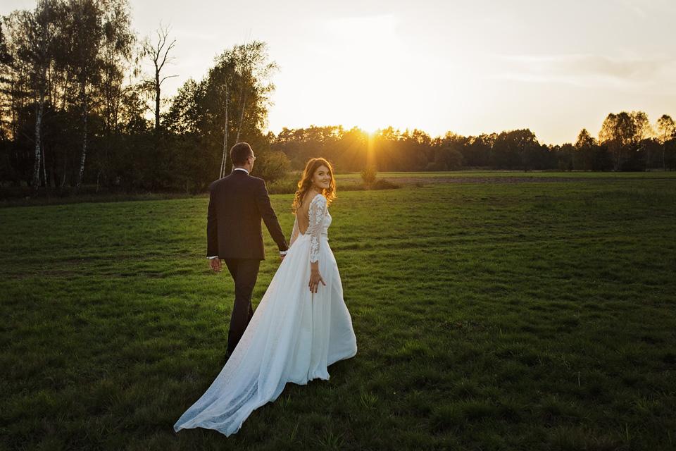 Sesja ślubna plener natura 21