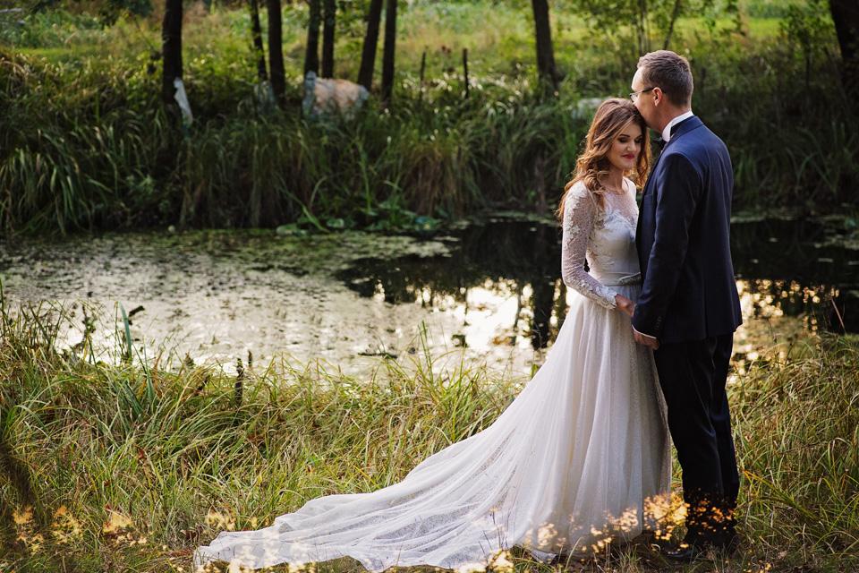 Sesja ślubna plener natura 24