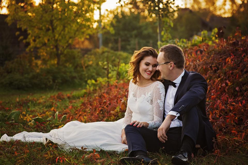 Sesja ślubna plener natura 34