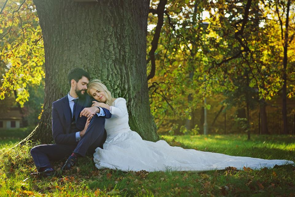 Plener ślubny w Lublinie natura 42