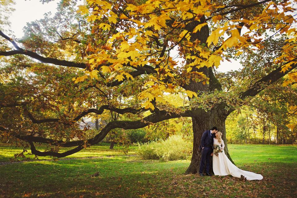 Plener ślubny w Lublinie natura 37
