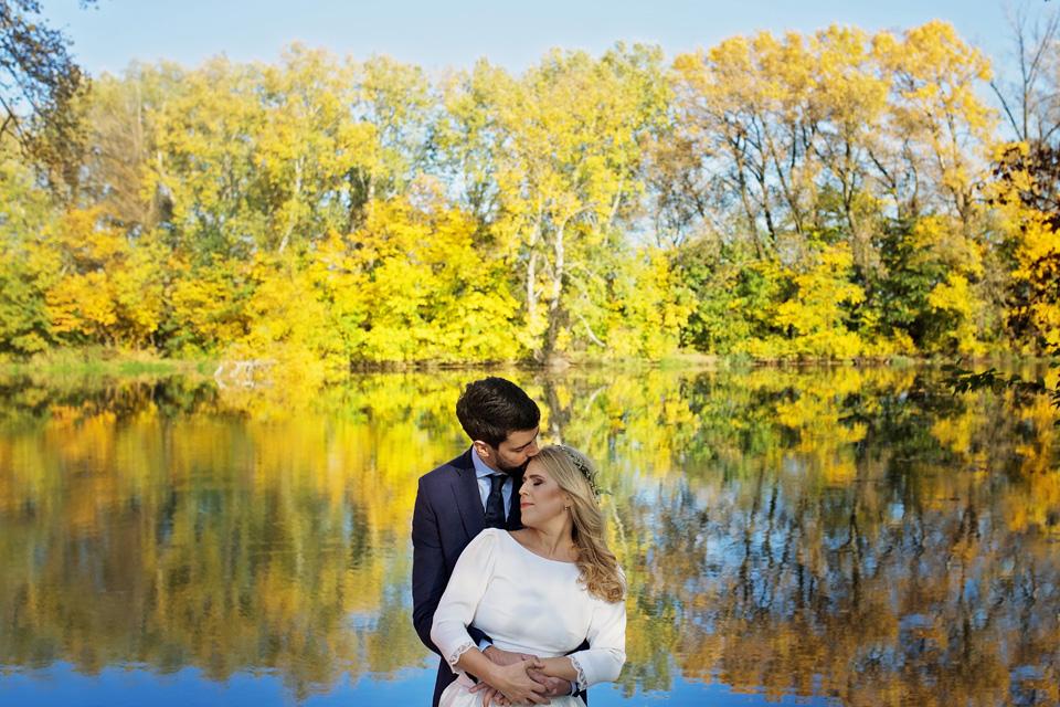 Plener ślubny w Lublinie natura 13