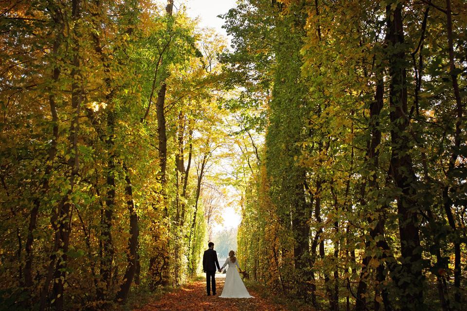 Plener ślubny w Lublinie natura 10