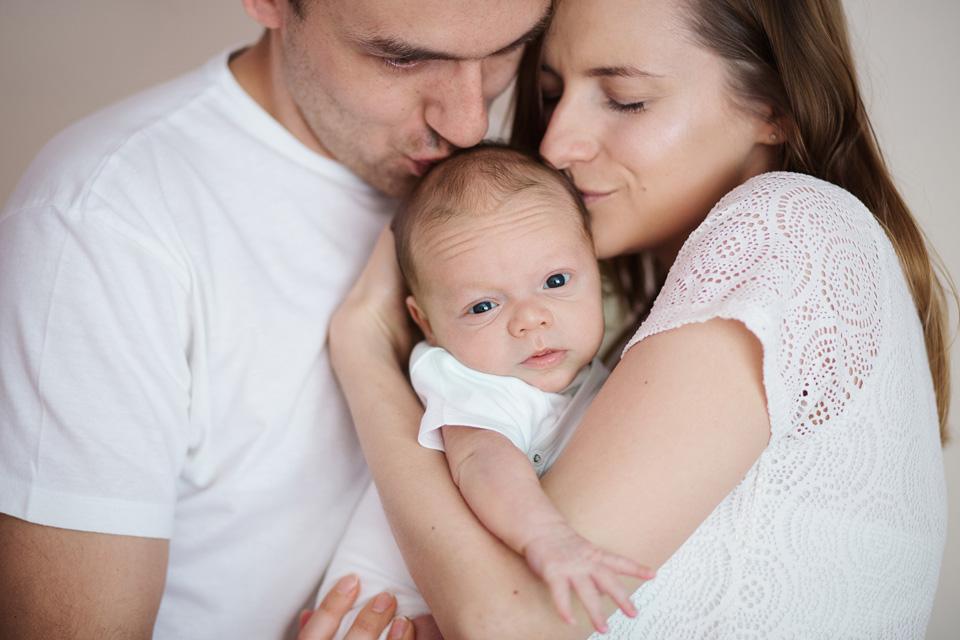 sesja noworodkowa z rodzicami Leczna 3