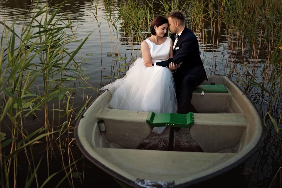 sesja ślubna nad jeziorem w Lublinie fotograf 80