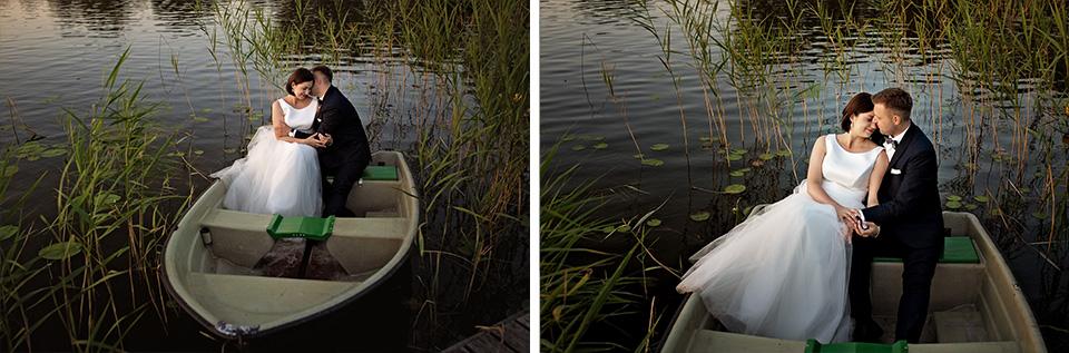sesja ślubna nad jeziorem w Lublinie fotograf 79