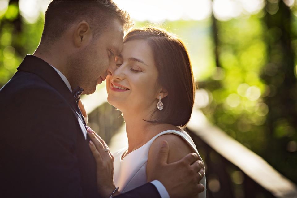 sesja ślubna nad jeziorem w Lublinie fotograf 53