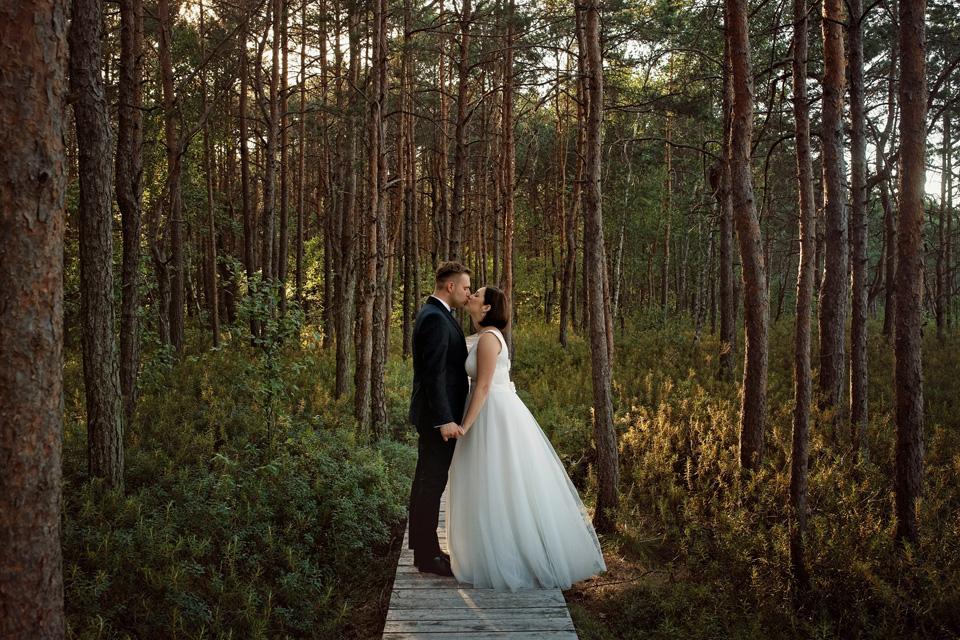 sesja ślubna nad jeziorem w Lublinie fotograf 43