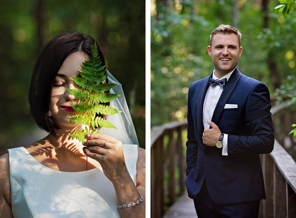 sesja ślubna nad jeziorem w Lublinie fotograf 24