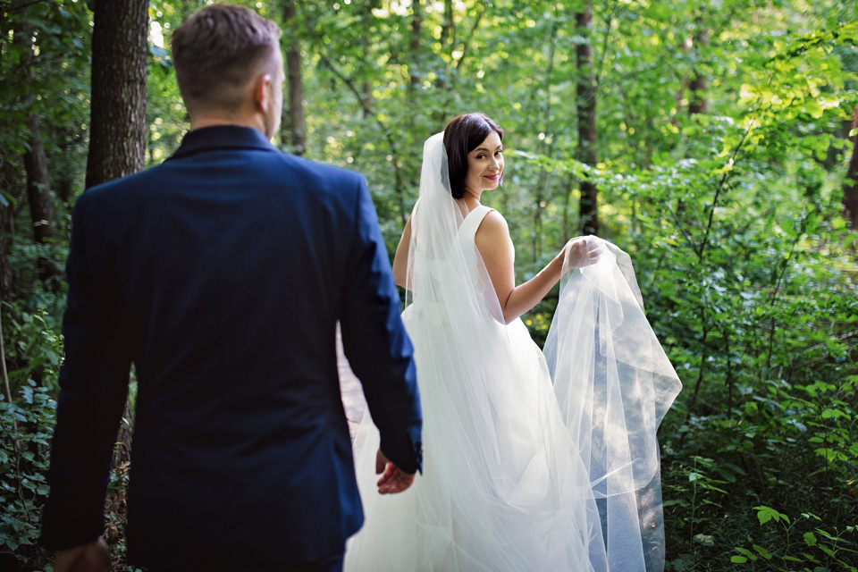 sesja ślubna nad jeziorem w Lublinie fotograf 6